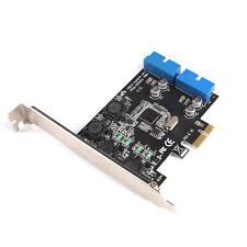 PCI Express to 20 Pin USB 3.0 PCI-e X1 to 2 ports 19pin USB3.0 Header