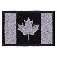 CANADA FLAG Embroidered Iron On CANADIAN Military Patch P106