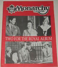 Monarchy Canada  Magazine Vol 10 No 2 Two For The Royal Album 1981