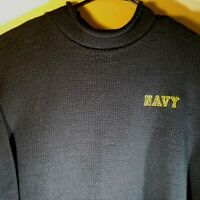 Mens United States Naval Academy Sweater by Whalerknits XL