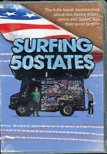 Surfing 50 States (Dvd) Indie Travel Documentary New/Sealed