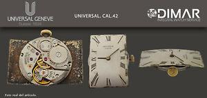 Vintage Original Movement/Movement Universal Geneve. Calibre. 42. 25X18mm