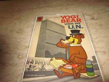 Four Color #1349 Yogi Bear Visits The U.N.