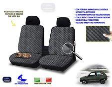 Coprisedili per Fiat Panda vecchia 1000 fodere 2 per sedilli auto anteriori set