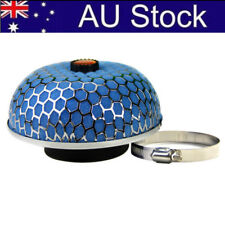 "Universal Blue High3""  Mushroom Air Filter Flow Intake Reloaded Cleaner AU Stock"