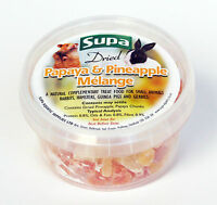 Dried Papaya & Pineapple Mélange Small Animal Treat Food Gerbil Chinchilla 225ml