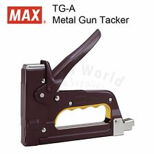 MAX TG-A Metal Gun Tacker Industrial Heavy Duty Stapler, MADE IN JAPAN