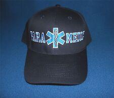 EMT / EMS Paramedic Cap Hat Low profile Star of Life Navy Blue