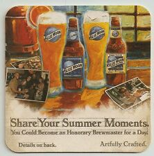 16 Blue Moon Share Your Summer Moments  Beer Coasters