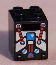 RARE Lego Container Box 2 x 2 x 2 w/ Door & Slot Spyrius Pattern 6949 6959 6888