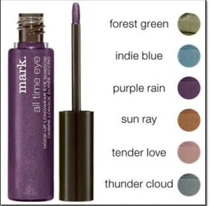 AVON Mark ALL TIME EYE in Purple Rain Longwear Wet Stick Eye Shadow High Pigment