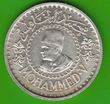 Morocco 500 Francs 1956 Silver Better Than Very Fine nswleipzig