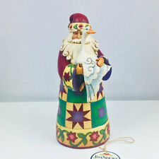 Jim Shore Heartwood Creek Christmas Santa with Goose Figurine 4008936