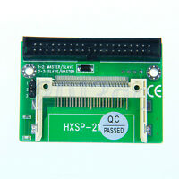 """CF Compact Flash to 3.5"""" 40 Pin Male IDE HDD Converter Card Adapter Bootable YG"""