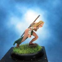 Painted Fenryll Miniature Amazon Warrior II
