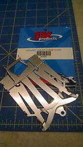 JK X25 4 Cheet Kit 0.9MM Thick 1/24 Chassis Kit Slot Car Mid America Raceway