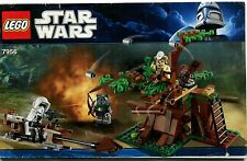 LEGO Star Wars 7956 Ewok Attack Instruction Manual : Booklet Only