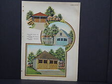 Houses, Homes, American Builder c.1927, One Double Sided Print #15