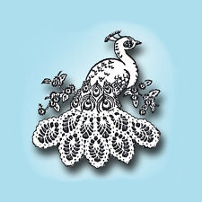 Peacock Embroidery Crochet Vintage Pattern Pillowcase