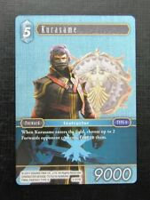 Final Fantasy Cards: KURASAME 3-031R # 2J63