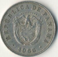 1966 PANAMA / 5 CENTESIMOS        #WT8656