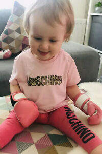 Wearable Baby Boxing Gloves Full PINK