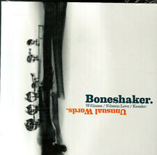 Boneshaker: Mars Williams / Paul Nilssen-Love / Kent Kessler- Unusual Words - CD