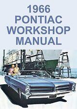 PONTIAC WORKSHOP MANUAL: 1966