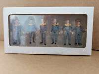 1/50 Mini Drivers Construction Workers Figure Figurine Model Gray F/CAT Props