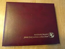 52 First Day of Issue Stamps and Envelopes Readers Digest Album 1981-1985 Mixed