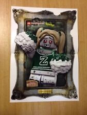 Lego Minifigure Series 14 - Promotional Poster Zombie Cheerleader (6721)