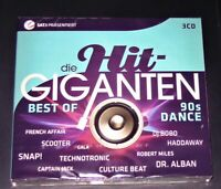 DIE HIT GIGANTEN BEST OF 90S DANCE 3 CD BOX IM DIGIPAK MIT 64 TITEL NEU & OVP