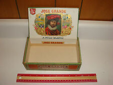 Jose Grande Queens Cigar Box PA Tax Stamp VERY NICE!!!! Older Box