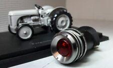 Ferguson TE20 tea ted tracteur dash lampe rouge ignition warning light chrome lunette