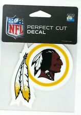 "Washington Redskins 4"" x 4"" Team Logo Truck Car Auto Window Die Cut Decal Color"