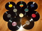 Joblot 10 x 12 inch LP vinyl records for craft, upcycling projects etc