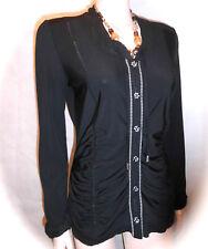 Traumhaft Biba Bluse Shirt Cherry Kiss Black Neu Gr.36