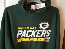 Green Bay Packers Green Hooded Sweatshirt Hoody Medium  New w/Tags FREE SHIPPING