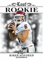 """BAKER MAYFIELD 2018 LEAF """"EXCLUSIVE EDITION"""" ROOKIE CARD! NFL #1 PICK!"""