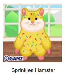 Webkinz Classic Sprinkles Hamster *Code Only*