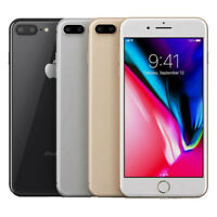 Apple iPhone 8 Plus 64GB (Factory Unlocked) smartphone FRB with 1 Year Warranty
