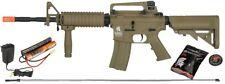Lancer Tactical M4A1 Airsoft Gun Rifle SOPMOD AEG Metal Gears Raider w/ 9.6v TAN