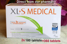 XLS Medical Fat Binder Weight Loss Aid,  2x180=360 Tablets.  BEST PRICE! Exp 20