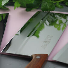Cleaver Knife Slicing Hamokiri Sujihiki Chop Kitchen Knives Wood Handle 223mm XL