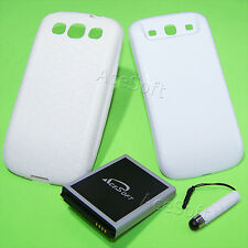 New 7570mA Extended Battery Cover Case Pen F Samsung Galaxy S3 Boost Mobile Ting