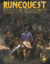 Runequest: Roleplaying in Glorantha Core Rulebook (Hardcover) CHA4028-H RPG
