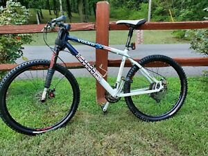 1999 Cannondale Volvo Lefty Stars and Stripes Men's Mountain Bike, vintage