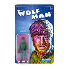 Super7 ReAction Figures Universal Monsters The Wolf Man