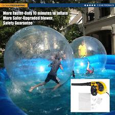 New 2M Water Walking Ball Roll Inflatable Zorb Ball w/ German Zipper Best Price
