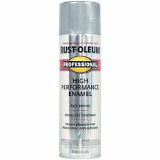 Rust-Oleum 7515838 Professional High Performance Enamel Spray Paint, Aluminum, 1